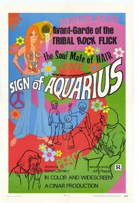 Sign of Aquarius - 27 x 40 Movie Poster - Style B