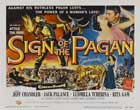 Sign of the Pagan - 11 x 14 Movie Poster - Style A