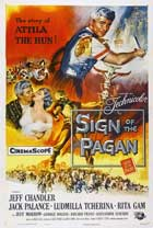 Sign of the Pagan - 11 x 17 Movie Poster - Style A