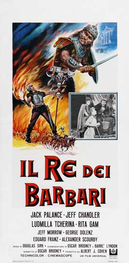 Sign of the Pagan - 13 x 28 Movie Poster - Italian Style A
