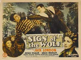 Sign of the Wolf - 22 x 28 Movie Poster - Style A