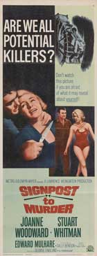Signpost to Murder - 14 x 36 Movie Poster - Insert Style A