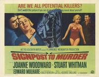 Signpost to Murder - 11 x 14 Movie Poster - Style A
