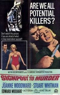 Signpost to Murder - 43 x 62 Movie Poster - Bus Shelter Style A