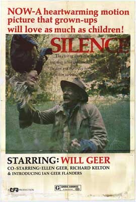 Silence - 11 x 17 Movie Poster - Style A