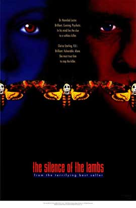 The Silence of the Lambs - 11 x 17 Movie Poster - Style C