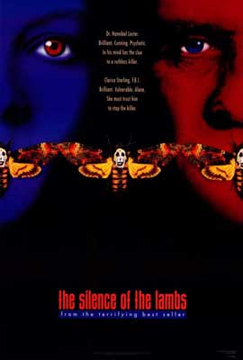 The Silence of the Lambs - 27 x 40 Movie Poster - Style A