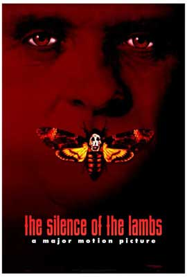The Silence of the Lambs - 27 x 40 Movie Poster - Style B