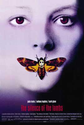 The Silence of the Lambs - 27 x 40 Movie Poster - Style C