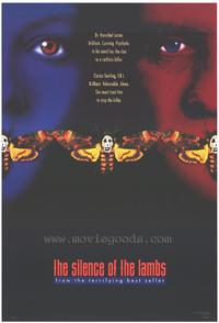 The Silence of the Lambs - 43 x 62 Movie Poster - Bus Shelter Style A