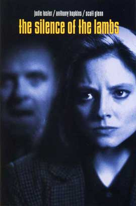 The Silence of the Lambs - 27 x 40 Movie Poster - Style D