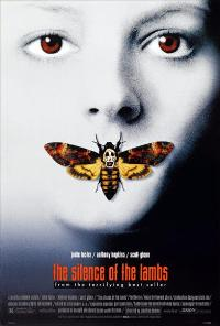 The Silence of the Lambs - 43 x 62 Movie Poster - Bus Shelter Style B