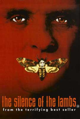 The Silence of the Lambs - 27 x 40 Movie Poster - UK Style A
