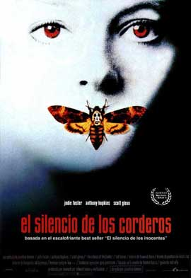 The Silence of the Lambs - 27 x 40 Movie Poster - Spanish Style A