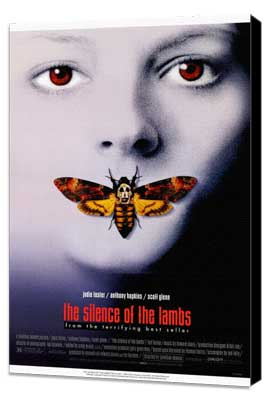 The Silence of the Lambs - 11 x 17 Movie Poster - Style A - Museum Wrapped Canvas