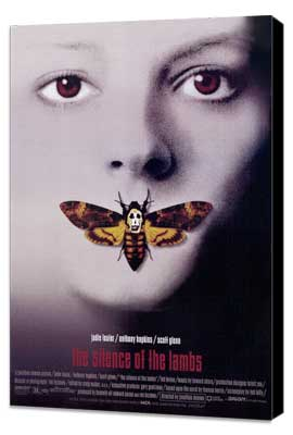 The Silence of the Lambs - 27 x 40 Movie Poster - Style C - Museum Wrapped Canvas