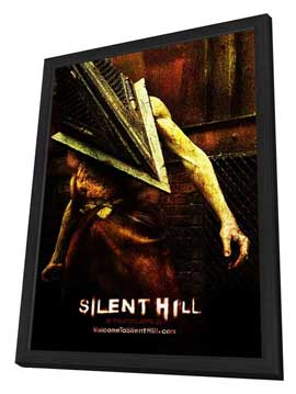 Silent Hill - 11 x 17 Movie Poster - Style L - in Deluxe Wood Frame