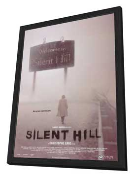 Silent Hill - 27 x 40 Movie Poster - Style B - in Deluxe Wood Frame