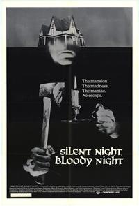Silent Night, Bloody Night - 43 x 62 Movie Poster - Bus Shelter Style A