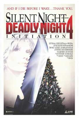 Silent Night, Deadly Night 4: Initiation - 11 x 17 Movie Poster - Style A