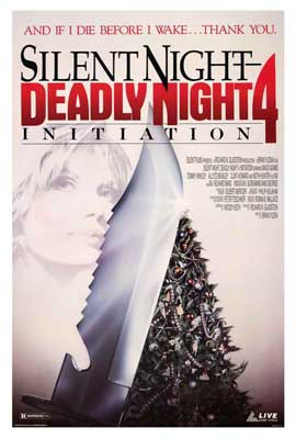 Silent Night, Deadly Night 4: Initiation - 27 x 40 Movie Poster - Style A