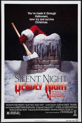Silent Night, Deadly Night 4: Initiation - 11 x 17 Movie Poster - Style B