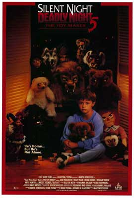 Silent Night, Deadly Night 5: The Toy Maker - 27 x 40 Movie Poster - Style A
