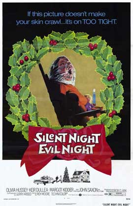 Silent Night Evil Night - 11 x 17 Movie Poster - Style A