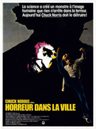 Silent Rage - 11 x 17 Movie Poster - French Style A