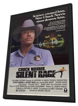 Silent Rage - 11 x 17 Movie Poster - Style A - in Deluxe Wood Frame