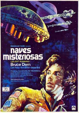 Silent Running - 27 x 40 Movie Poster - Spanish Style A