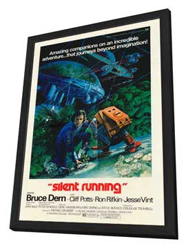 Silent Running - 27 x 40 Movie Poster - Style A - in Deluxe Wood Frame