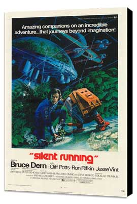 Silent Running - 11 x 17 Movie Poster - Style A - Museum Wrapped Canvas