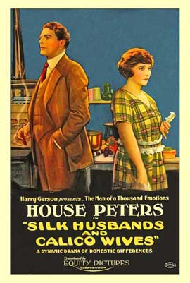 Silk Husbands and Calico Wives - 11 x 17 Movie Poster - Style A