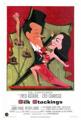 Silk Stockings - 27 x 40 Movie Poster - Style A