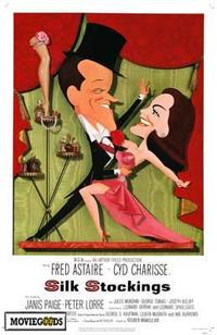Silk Stockings - 43 x 62 Movie Poster - Bus Shelter Style A