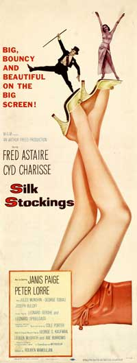 Silk Stockings - 14 x 36 Movie Poster - Insert Style A