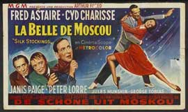 Silk Stockings - 11 x 17 Movie Poster - Belgian Style A