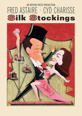 Silk Stockings - 11 x 17 Movie Poster - Style B