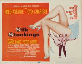 Silk Stockings - 22 x 28 Movie Poster - Half Sheet Style B
