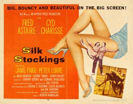 Silk Stockings - 22 x 28 Movie Poster - Half Sheet Style A