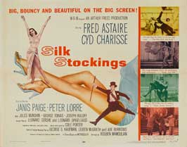 Silk Stockings - 30 x 40 Movie Poster UK - Style A