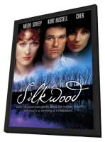 Silkwood - 27 x 40 Movie Poster - Style B - in Deluxe Wood Frame