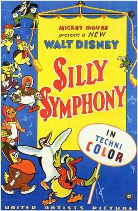 Silly Symphony - 11 x 17 Movie Poster - Style A