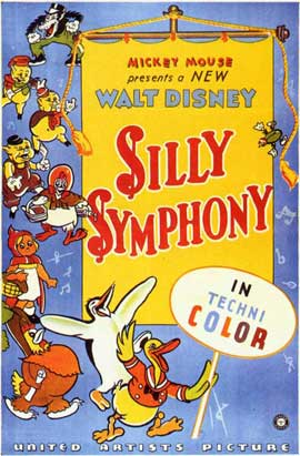 Silly Symphony - 11 x 17 Movie Poster - Style B