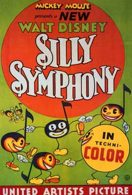 Silly Symphony - 11 x 17 Movie Poster - Style C