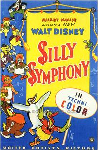 Silly Symphony - 27 x 40 Movie Poster - Style A