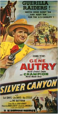 Silver Canyon - 11 x 17 Movie Poster - Style A