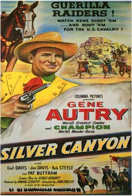 Silver Canyon - 27 x 40 Movie Poster - Style A
