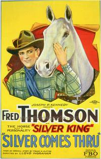 Silver Comes Thru - 27 x 40 Movie Poster - Style A